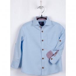 Рубашка BoGi casual Голубая