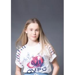 Футболка Овен Рози Белая