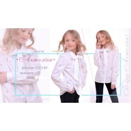 Блуза Анжелина ткань: х/б