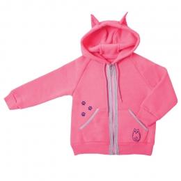 Куртка KR-09-18 КОШКИ МЫШКИ, трехнитка с начесом - 100% хлопок