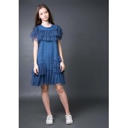 Платье Овен Риана Синий