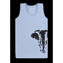 Майка Габби Слон Голубая