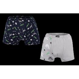 Детские трусы-шорты для мальчика SHM-20-17 в подарочной упаковке (2 шт.)