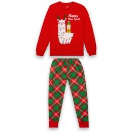 Пижама Габби PGD-20-30-2 Красная с зеленым