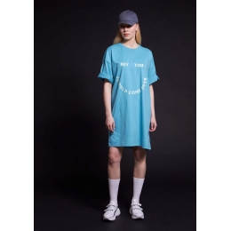 Платье Овен Ангра Бирюза