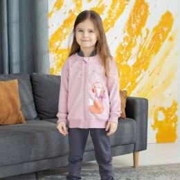 Спортивный костюм Robinzone Лисичка-меломан Розовый