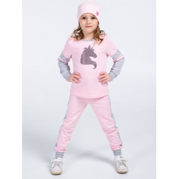Спортивный костюм VidOli Единорог Розовый