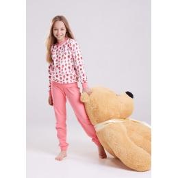 Пижама Овен Клубника-1 Розовый
