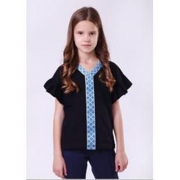 Блуза короткий рукав Vidoli Черный
