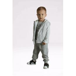 Комплект Кена Жилет+штаны двунитка Серый