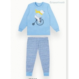 Пижама Габби PGM-21- 3 Голубой