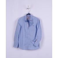 Рубашка BoGi casual Голубая клетка