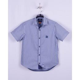 Рубашка BoGi casual Сине-белая полоска