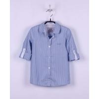 Блуза с длинным рукавом BoGi Голубая полоска