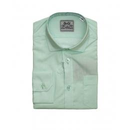 Рубашка BoGi классическая Мятная